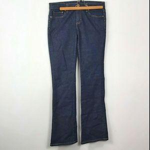 Banana republic boot cut Dark wash jeans